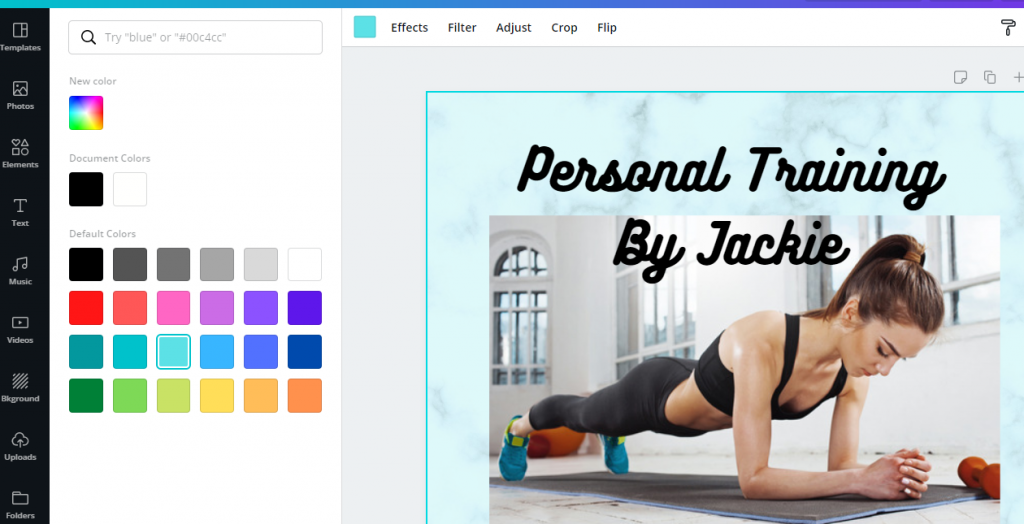 personal trainer ads