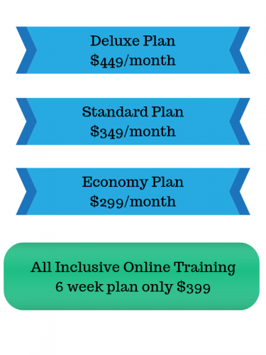 personal trainer price plans